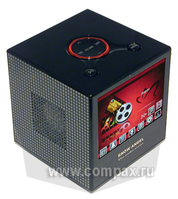 Колонки MP3, Video Black Angel 2Gb Natural sound Speaker, FM (BXV-02B)